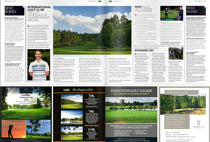 IGC London in Golf News