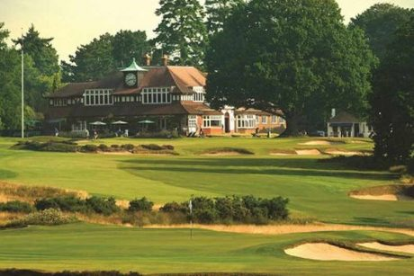 Sunningdale Golf Club society golf day