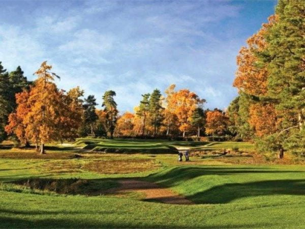 Golf day at Worplesdon Golf Club
