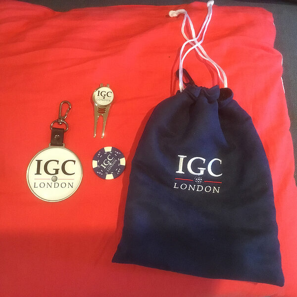 IGC London goody bag for memebers